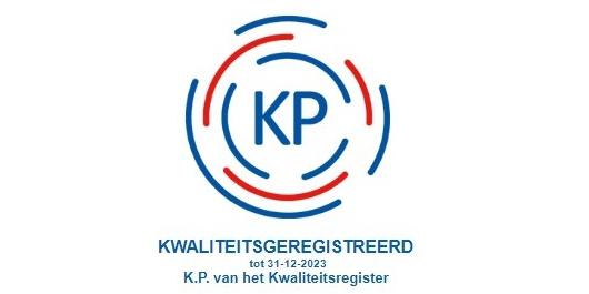 Maak je kwaliteitsregistratie zichtbaar met nieuwe sticker KP