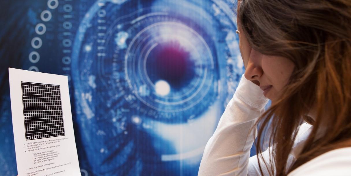 Passende zorg bij maculadegeneratie is winst voor de patiënt